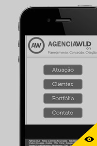 Proposta do site mobile.
